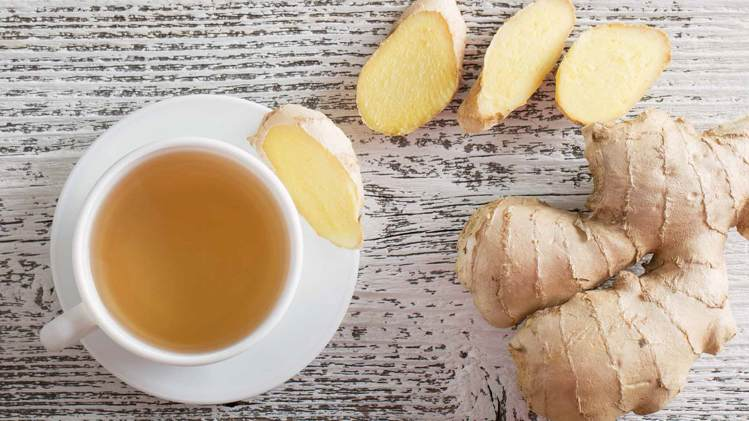 अदरक (ginger) is effective in cold and cough