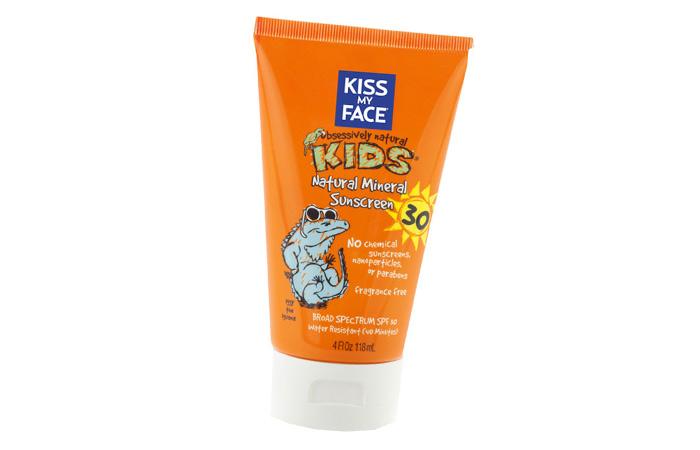 बच्चों के लिए सनस्क्रीन