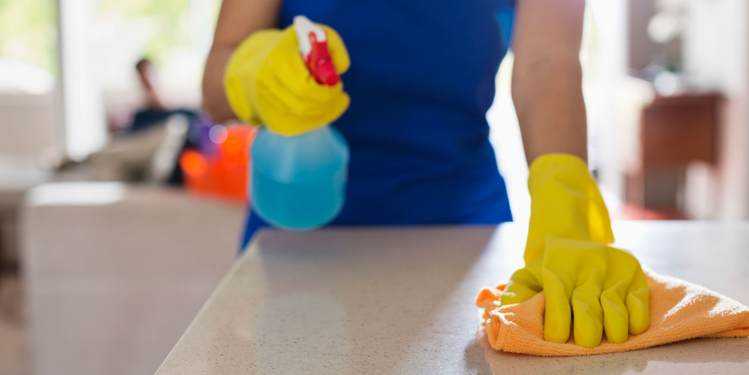keep house clean to prevent infection