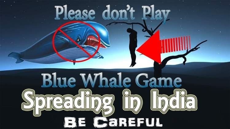 blue whale game in India protect your children