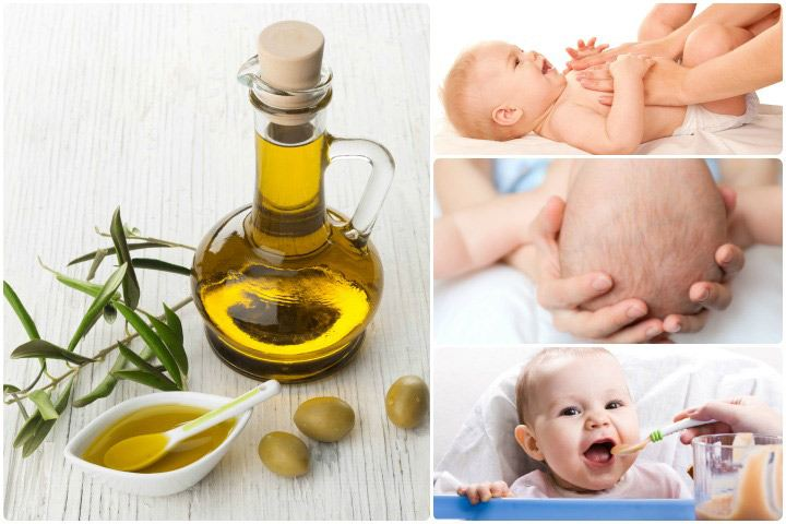 benefits of olive oil in baby massage